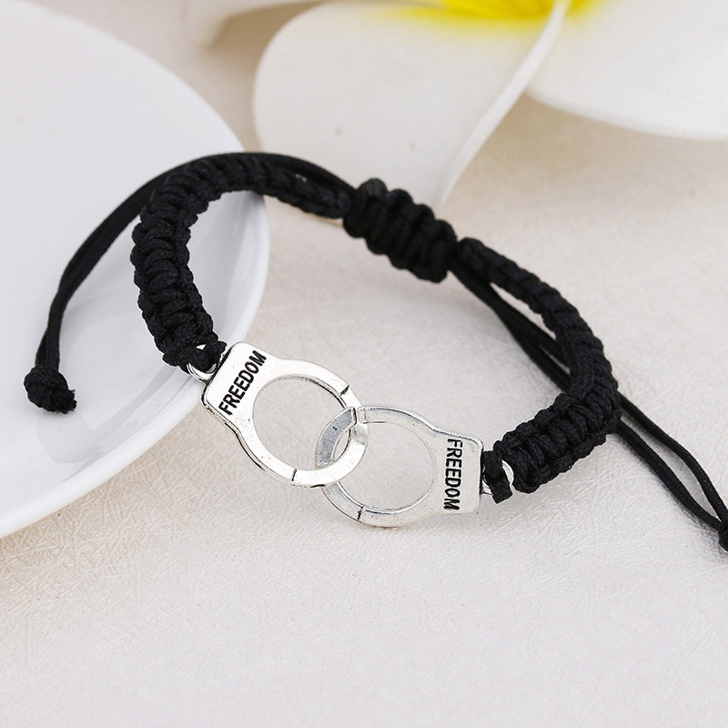 Adjustable Vintage Handmade Bracelet Men Jewelry Handcuffs Charm Bracelet for Women Accessories Friendship Girl Couple Bracelets 10