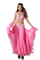 Hot New Fashion Women S Clothing Brand Belly Dance Chiffon Skirt Dance Performance Wear Female Belly