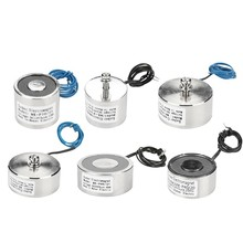 24V Solenoid Sucker Electromagnet DC24V Holding Electric Magnet Lifting  Non-standard Custom