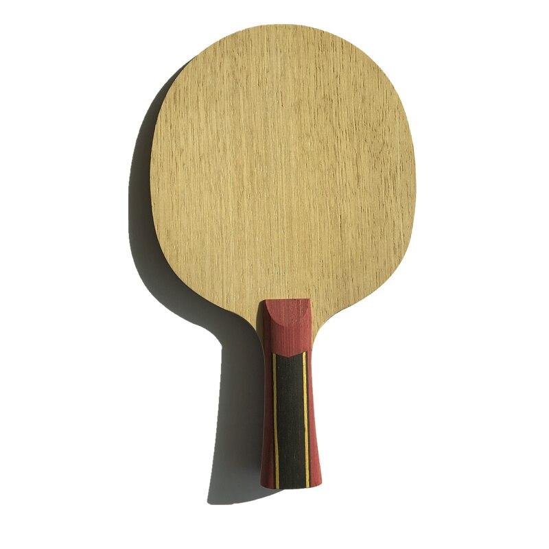 5 couches de bois avec 2 couches super zl-carbon raquette de tennis de table pour les joueurs de tennis de table meilleur prix pour profiter de la lame de ping-pong