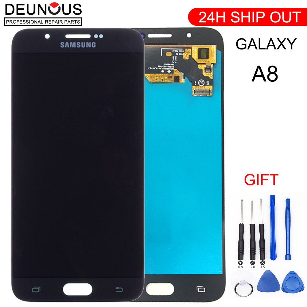 TFT <font><b>LCD</b></font> Display Für <font><b>Samsung</b></font> Galaxy A8 2015 <font><b>A800</b></font> A8000 A800F <font><b>LCD</b></font> Display Touchscreen Digitizer Montage image