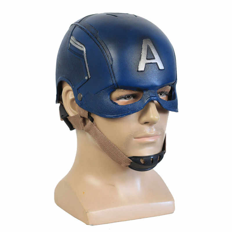Captain America 3 Civil War Mask Avengers Endgame Advanced Tech Mask Cosplay Steven Rogers Mask Halloween Helmet Mask 2 Types
