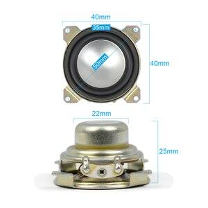 Image 4 - AIYIMA 2Pcs 1,5 Zoll Vollständige Palette Lautsprecher 8 Ohm 2W Neodym Magnet Tragbare Audio Lautsprecher Für Satelliten Spalte loudpeaker