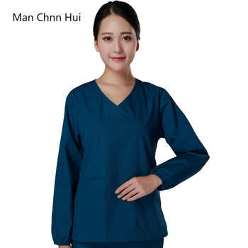Medical clothing for women Korean version of the spring and summer medical surgical wear doctor wear scrub uniform