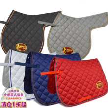 Британская подушка для седла, комплекты для конного спорта, хлопковая саржа, подстилки для седла, квадратные подстилки для седла
