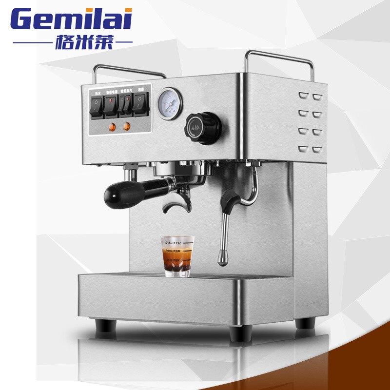 ALDXC7-CRM3012,Italian semi-automatic coffee machine home commercial pump pressure stainless steel coffee machine steam net