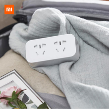 Xiaomi Mijia Power Strip Converter Portable Plug Travel Adapter for Home Office 5V 2.1A 2 Sockets USB Fast Charging H20