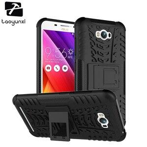 TAOYUNXI Armor Kickstand Phone Case Cover For ASUS Zenfone MAX Case ASUS_Z010DD Z010D ZC550KL Z010DA 5.5 Inch Housing Bag Shell