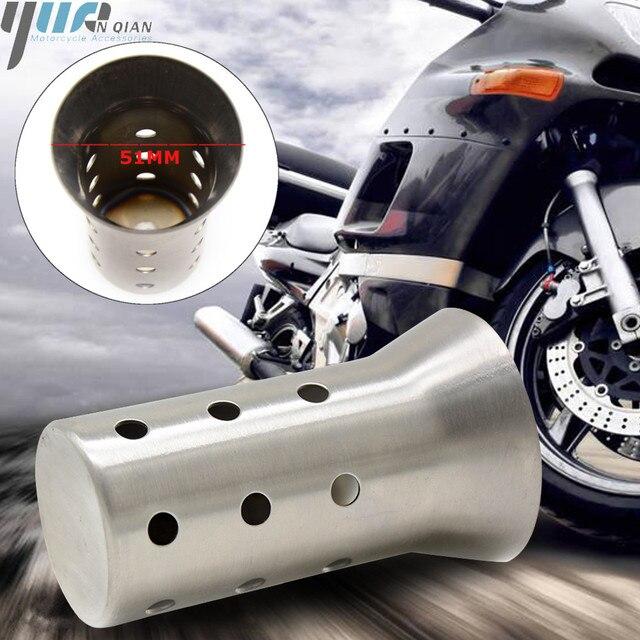 51 мм универсальные аксессуары для мотоциклов глушитель выхлопной трубы вставной дефлектор дБ убийца глушитель для DUCATI MONSTER 696 796 796 848