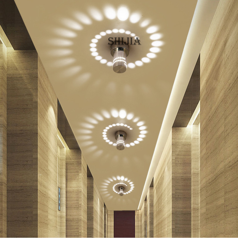 Creative Lamp Small LED Ceiling Light for Art Gallery Decoration Front Balcony lamp Porch light corridors Light Fixture