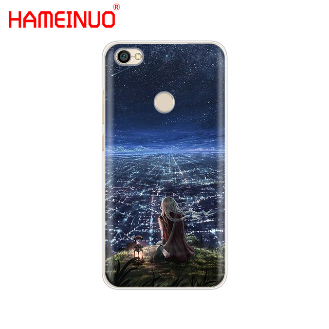 HAMEINUO Starry Day Anime Cover phone  Case for Xiaomi redmi 5 4 1 1s 2 3 3s pro PLUS redmi note 4 4X 4A 5A 2