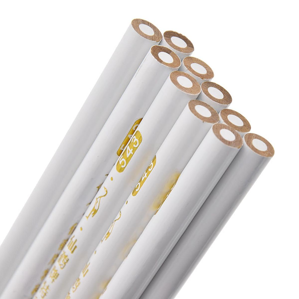 Mayitr lápis de costura em 4 cores, acessórios de ferramentas de artesanato para alfaiate profissional, alfaiate para casa com 10 peças