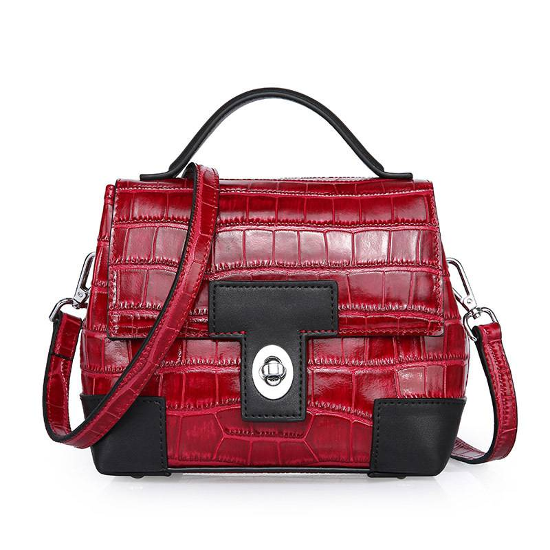 VICKAWEB Woman Handbags Crossbody Bags 2017 Alligator Small Shoulder Bag Women Genuine Leather Bags Female Woman Handbags woman handbags 100
