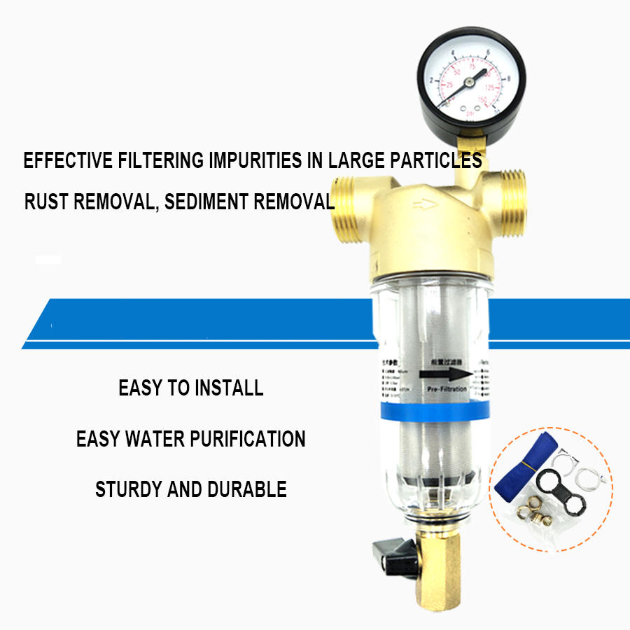 Appropriative Water Pre-filter for Ratio Device Front Purifier Front Waterway Protector Impurity Filtering Device