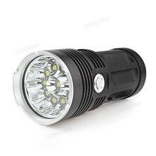 Brillante LED Linternas Portátiles Antorcha SKYRAY Super Brillante 11 x XML-T6 LED Pesca Caza Antorcha Ligera de Destello