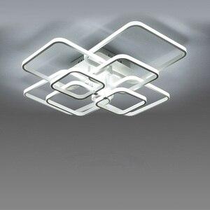 Image 2 - Moderne LED Kronleuchter Beleuchtung Für Wohnzimmer Mit Fernbedienung Schlafzimmer Wohnkultur Lampen Esszimmer Restaurant Leuchten Glanz