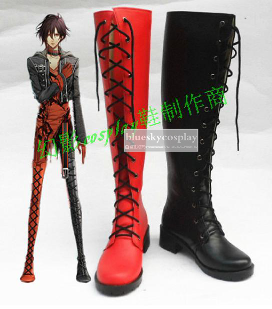 Amnesia SHIN Cosplay Shoes Boots Custom Made