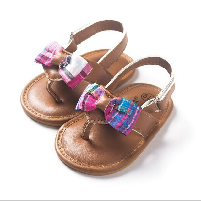 Wholesale Cute Baby Barefoot Sandals Infant Girl Sandals Baby Sandals Girls  Infant Sandals Baby Shoes Summer
