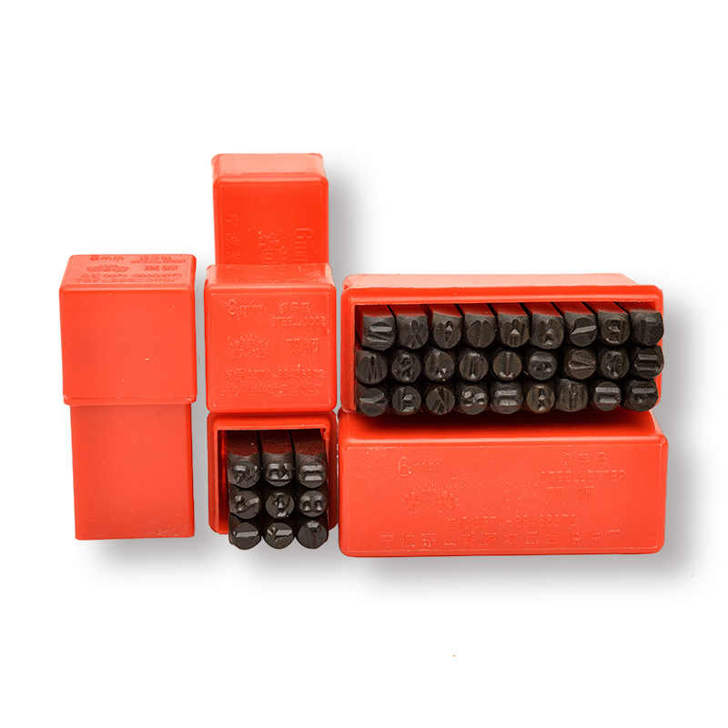 3mm Steel Stamp Letter Number Stamp Punch Set Hardened Metal Wood Leather Steel Punch Number Tool Leather Craft Stamp