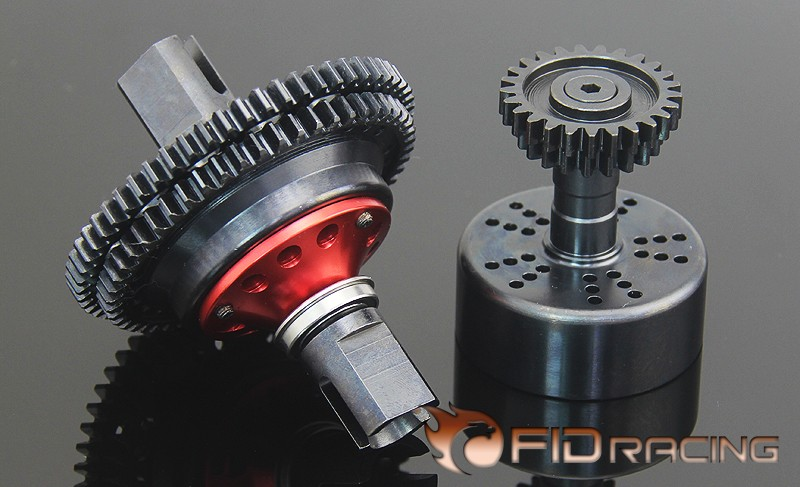 FID FOR LOSI 5IVE-T Super 2 Speed Two Gear transmission system fid rear axle c block for losi 5ive t mini wrc