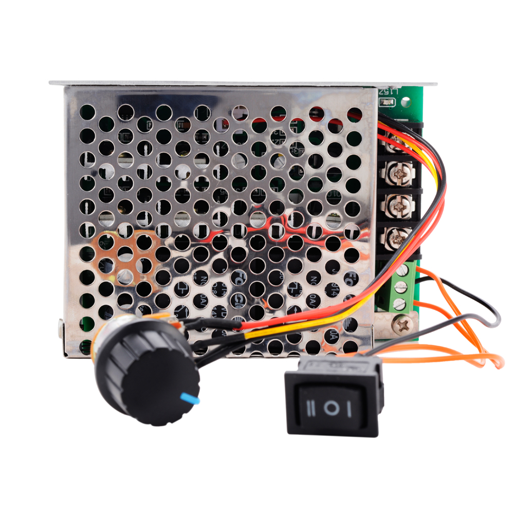 Max 40A 10V-50V PWM DC Motor Speed Controller CW CCW Reversible Pulse Driver
