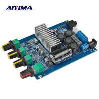 AIYIMA TPA3116 Bluetooth 4.2 carte amplificateur numérique 50W * 2 double canal 2.0 amplificateur Audio avec DC12-24V de réglage du Volume