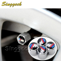 4Pcs/Lot Car Styling Tyre Value Caps For BMW E46 E39 E90 E60 E36 F30 F10 E34 X5 E53 E30 F20 E92 E87 M3 M4 M5 X5 X6 Accessories