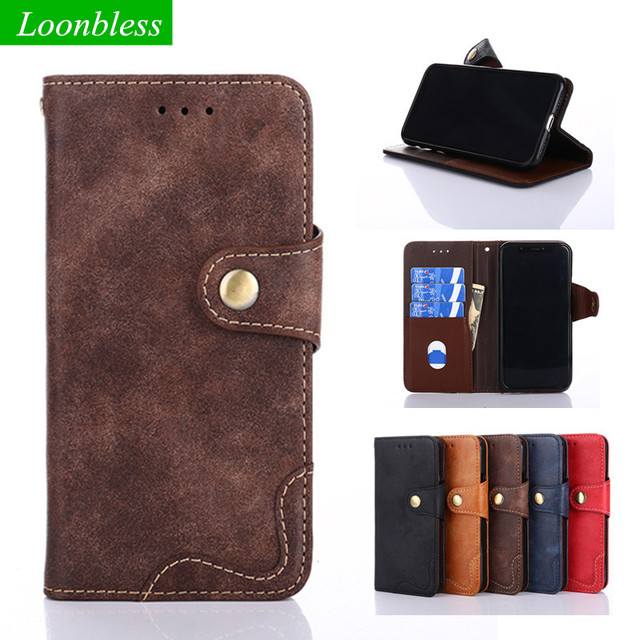 free shipping 27d64 d970a US $6.64 5% OFF|For Huawei Honor Play Case Honor Play cover 6.3 Business  Vintage Flip leather pouch for Huawei Honor Play COR AL00 cover case-in ...