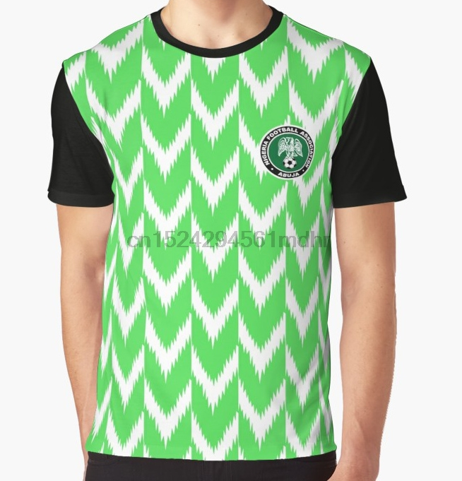 f0663ab1fa5 All Over Print T Shirt Men Funy tshirt Nigeria jersey 2018 Short Sleeve O  Neck Graphic Tops Tee women t shirt-in T-Shirts from Men s Clothing on ...