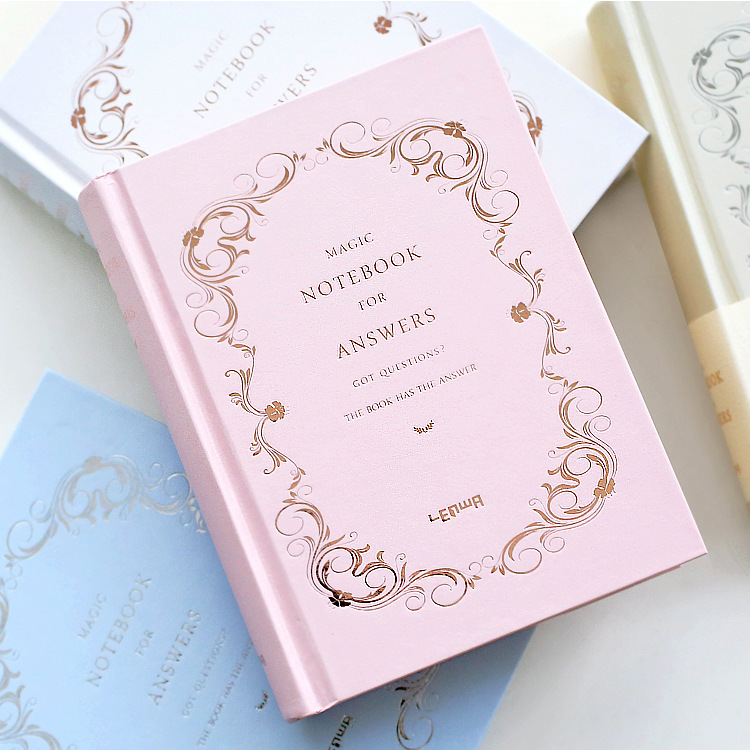 Hardcover Answer Book Notepad Sentence Both In Chinese And English Dairy Notebook