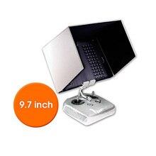 Fits Pad Air 2, Air, 9.7″ Tablet FPV Monitor Sunshade Sun Hood for DJI Phantom 3 Transmitter Remote Quick Release iPad Holder