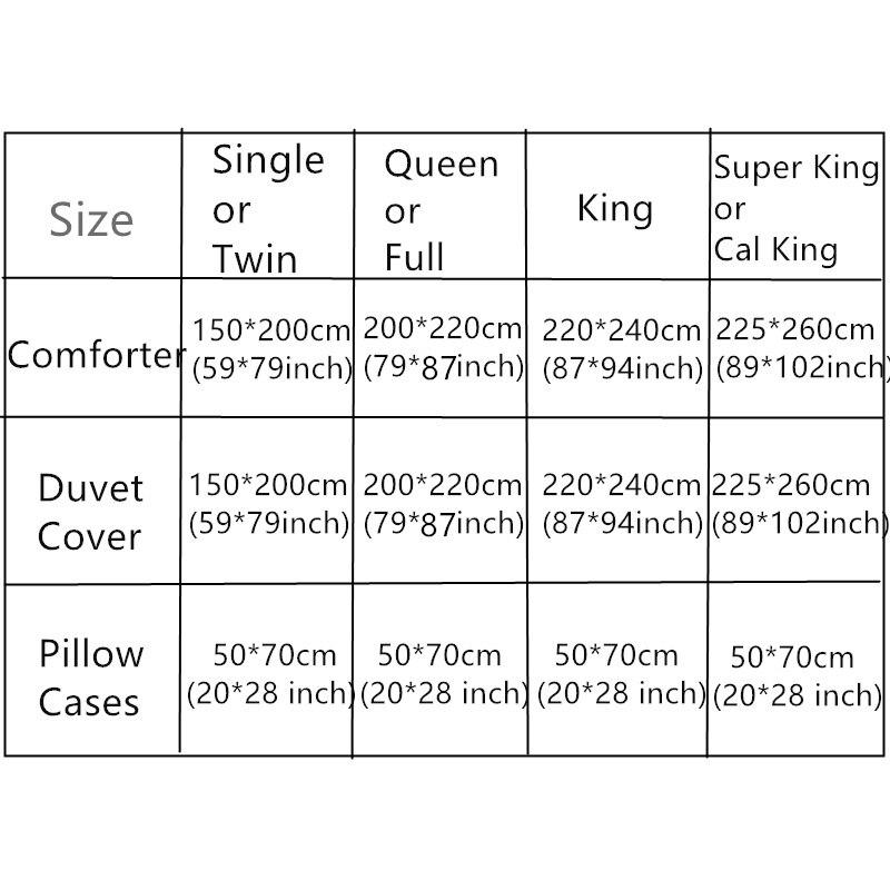 Cauchemar noël père noël cerf couverture de couette 3d rouge ensembles de literie 3/4pc double reine roi taille 500tc tissé beauté lit tissu - 2