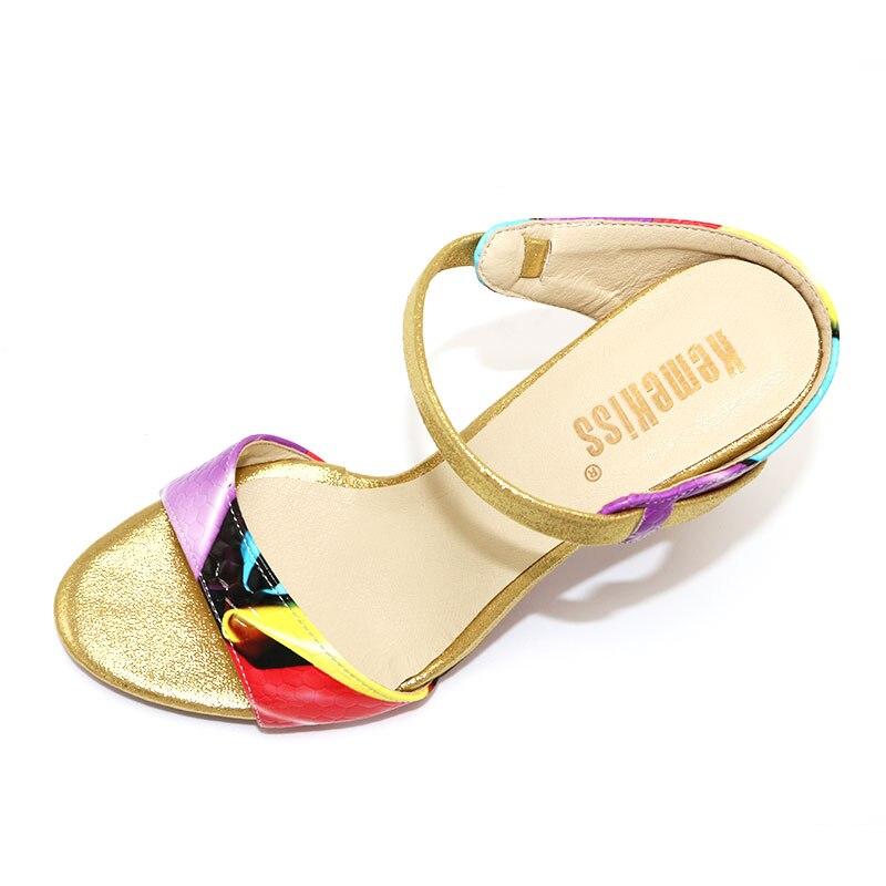 a469446b97 KemeKiss Darmowa wysyłka szpilki sandały kobiety mody dress sexy kobiet buty  platformy kapcie P13799 hot sprzedaż EUR rozmiar 31 -44