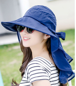6a8bd7f85 navy khaki pink rose watermelon red polyester UV neck protection ...