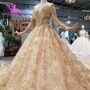 Image 3 - AIJINGYU נפלא יוקרה שמלת שמלות זול תלבושות בציר אוסף חתונה שמלות בחתונות