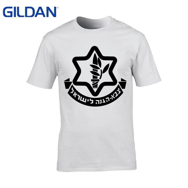 Kawaii t-shirt men Got Idf Zahal Israel Military Army Defense Forces men t shirt short sleeve cotton tshirt 4XL Tops Tee Футболка