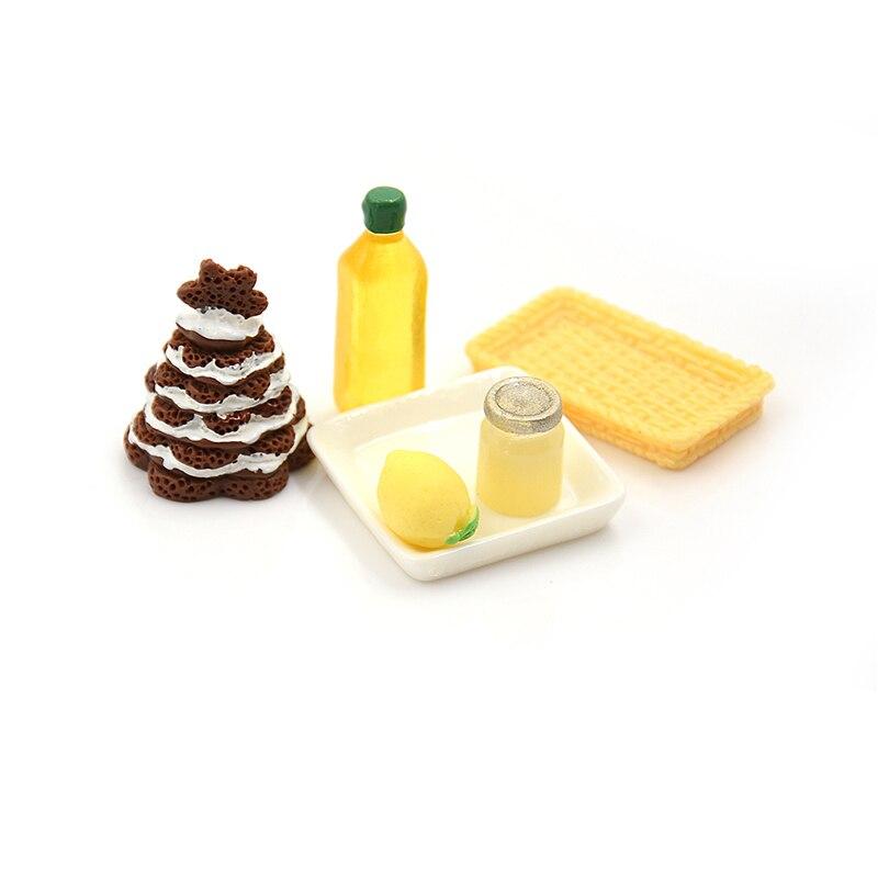 6pcs//lot Vintage Latest Bread Dollhouse Miniature Kids Children Available Play