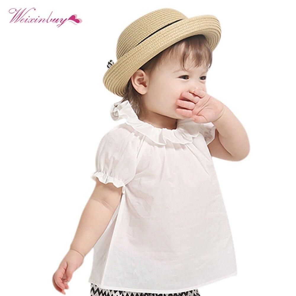 0-30M Maluch Nowonarodzone dziecko słodkie słodkie dziewczynek puff - Ubrania dziecięce - Zdjęcie 3