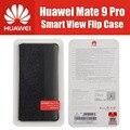 Huawei mate 9 lon-al00 pro casos pc + mf 100% oficial original smart view tirón de la cubierta para huawei mate 9 pro