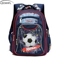 GCWHFL New Fashion Orthopedic Kids School Bags For Boys Backpack Kid Waterproof Primary School Backpacks Children Grade 1 3