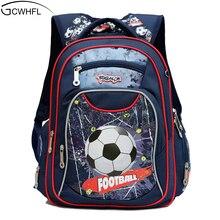 GCWHFL Новая мода ортопедические Дети школьные ранцы для мальчиков рюкзак Малыш водостойкий первичный школьные рюкзаки детские класс 1-3