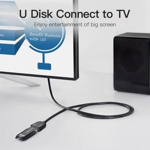 Image 4 - Vention USB 3.0 تمديد كابل يو إس بي 2.0 كابل يو إس بي ذكر إلى أنثى بيانات الحبل للتلفزيون الذكي PS4 Xbox One PC USB 3.0 تمديد كابل