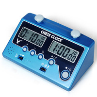 Professional Chess Clock Compact Digital Count Timer Electronic Board Game Bonus Competition Go Chess 3 in 1 Chess clock