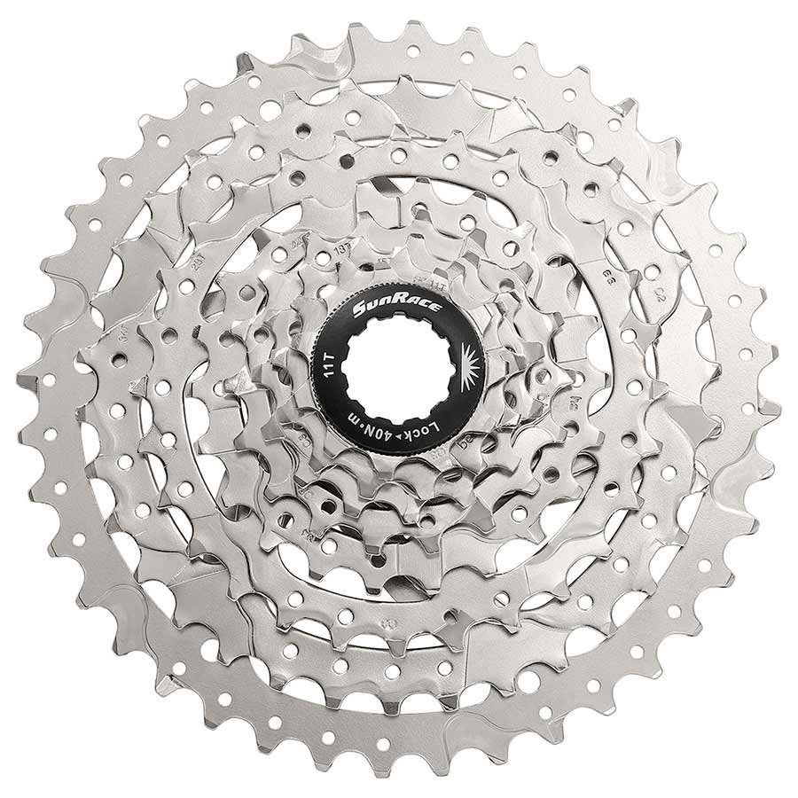 SunRace CSM680 8 Speed 11-40 Black OR Silver Bike Cassette fit for Shimano SRAM 1x