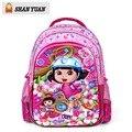 Nueva 5D aventureira Dora mochilas escolares para grils niños pequeños mochilas kindergarten mochila bolsas de los niños de alta calidad