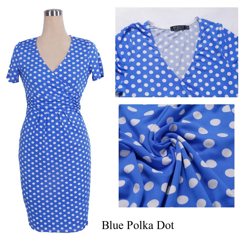 blue Polka Dot 1