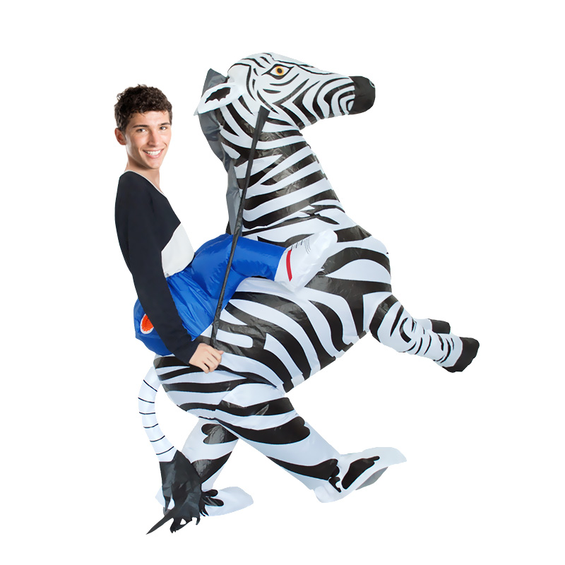 Zebra Inflatable Costume (1)