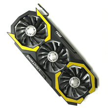 1 GPU cooler Video Card cooling fan with frame For MSI GTX980TI LIGHTNING 6G Graphics Card Cooling(China)