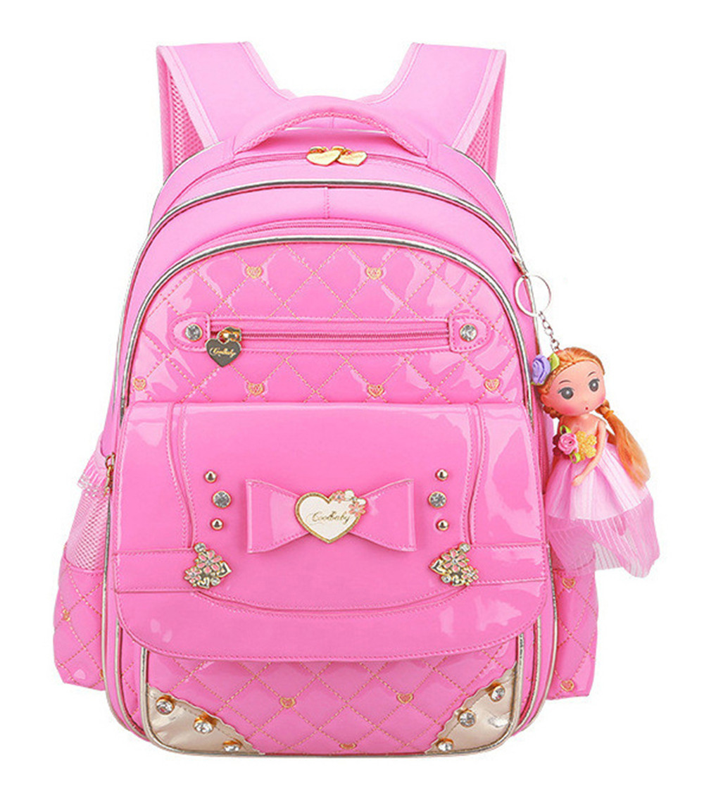 Cute Princess Schoolbag Waterproof Children School Bags for Girls Cartoon  Backpack Girl Schoolbag Kids Book Bag Mochilas 40667efdab5eb