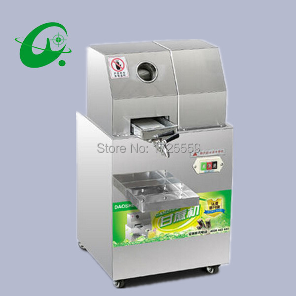 Commercial Sugar Cane juicer, Electric Juice Extractor 300kg/H, Automatic Adjustment Stainless Steel Cane Juicer